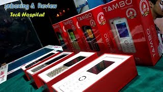 Tambo Mobile Unboxing&Review keypad mobile phones