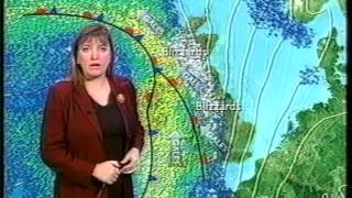 Repeat youtube video BBC Weather New Year's Eve 2000: Snow breakdown