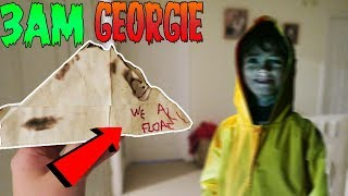 I CALLED GEORGIE (FROM IT) ON FACETIME AT 3AM!! OMG SO SCARY!! *HE CAME TO MY HOUSE!*