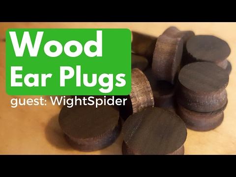 Wearables: Wooden Ear Plugs