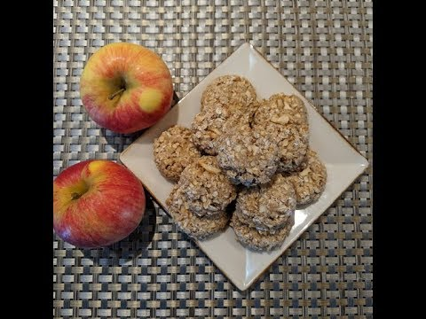 Apple Oatmeal Treats For Dogs
