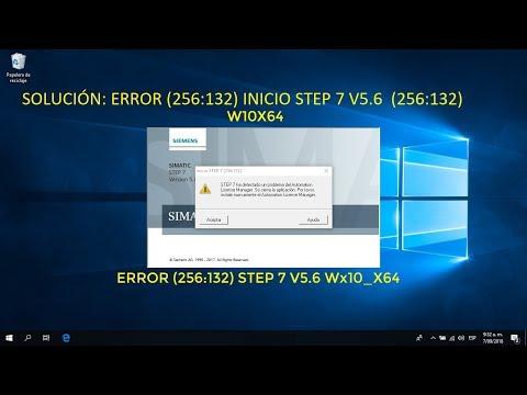 Como corregir Error (256:132) en STEP7 v5 6 W10x64