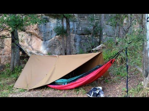 Primitive Car Camping along the Colorado River, Texas, USA