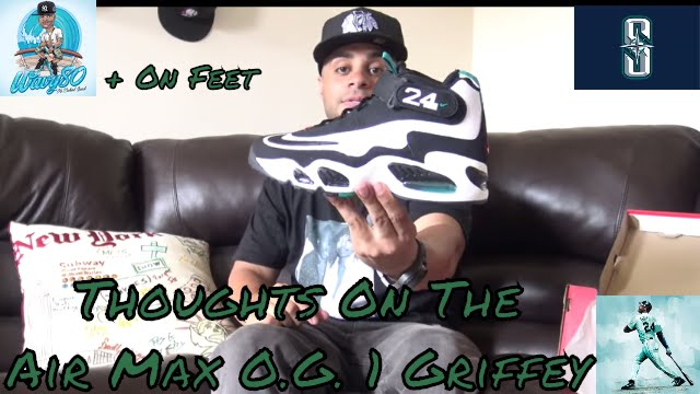 Thoughts On The Nike Air Max O.G. 1 Griffey + On Feet