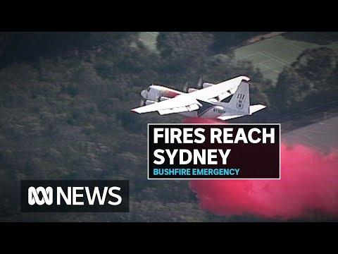 Bushfires hit Sydney as crews fight to bring them under control | ABC News