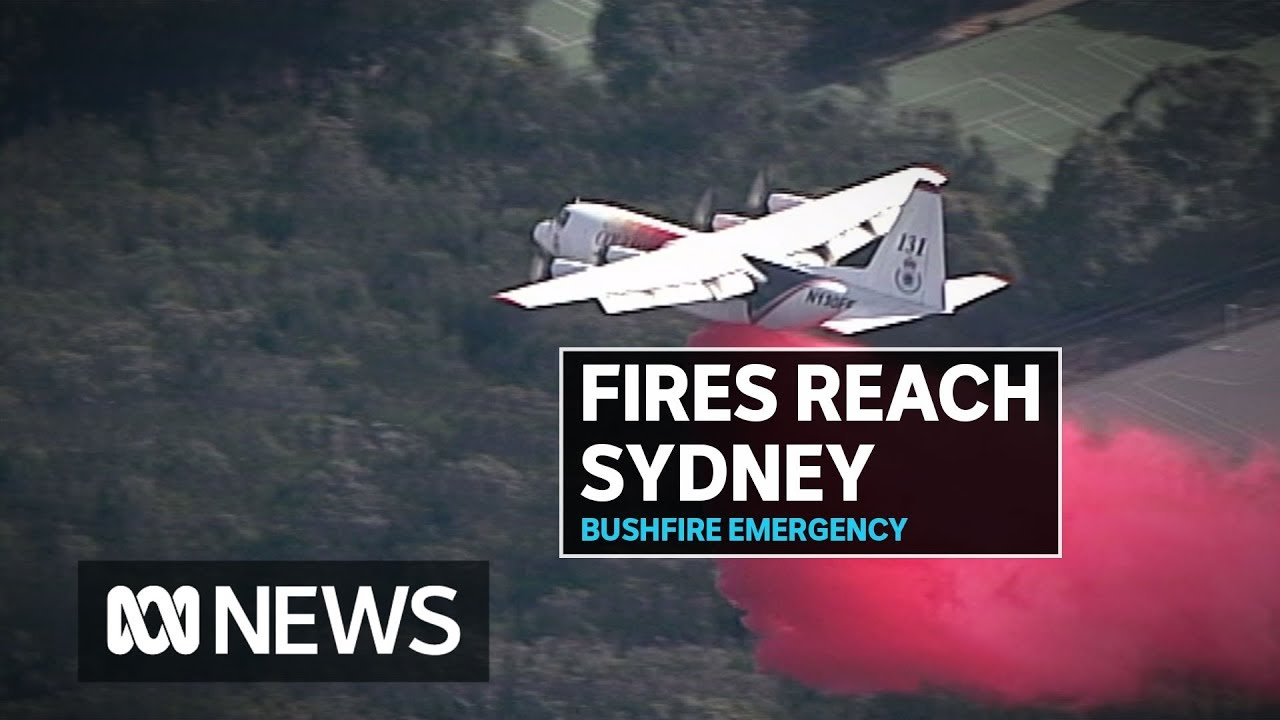 Bushfires Hit Sydney As Crews Fight To Bring Them Under