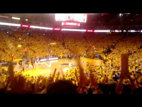 steph curry electrifies oracle arena game 4 playoffs vs denver