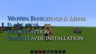 Flans mod Installation Singelplayer & Multiplayer [Bukkit] / Minecraft 1.6.4 + Download Server!