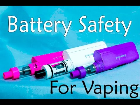 Vape | Battery Safety | Liquid Army