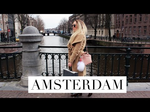 VLOG | A City Trip To Amsterdam #Travelguidebabes