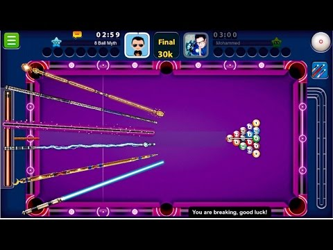 8 Ball Pool - CUE SWAP EVERY SHOT | Paris, Shanghai + Dubai, Rome No Guideline Gameplay