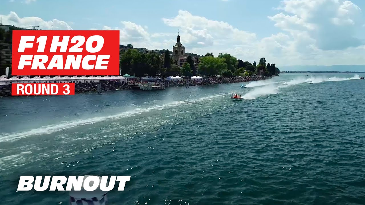 F1H2O World Championship 2019 | Highlights of Round 3 - France | BURNOUT