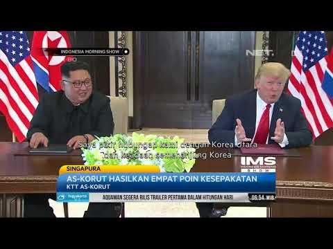 Donald Trump - Kim Jong Un Akhirnya Bertemu