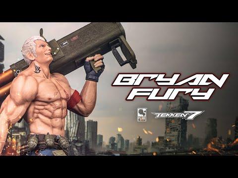 Tekken 7 Bryan Fury 1/4 Scale Statue - Official Trailer!