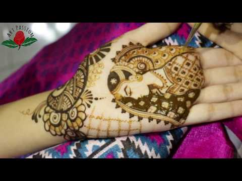 beautiful intricate and stylish figure drawing bridal mehendi for hands
