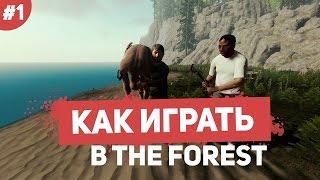 Как играть в The Forest #1