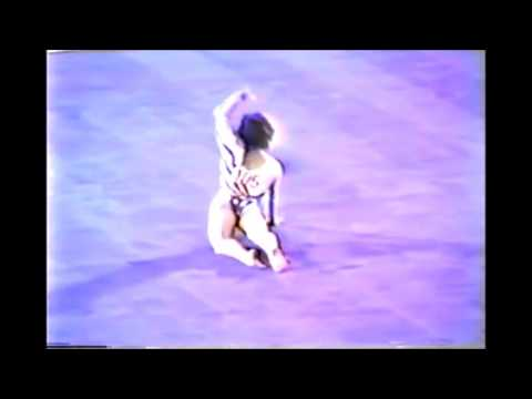 Mary Lou Retton AA FLOOR EXERICE 1984 Los Angles Olympic Games 10 00