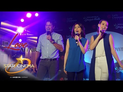 Richard, Dawn, Bea serenade fans at 'The Love Affair' mall shows