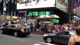Times Square- Olive Garden