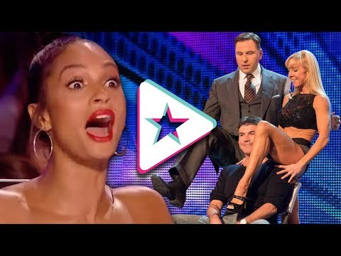 LAUGH OUT LOUD Auditions From Got Talent Have Judges In Stitches!