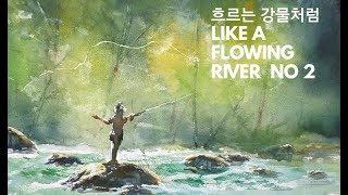 (영화2)설날특선!흐르는 강물처럼 그래드피트,수채화,풍…