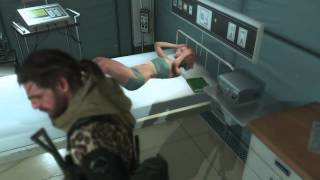 Metal Gear Solid V The Phantom Pain, GZ True Ending, Extracting Quiet and 35 Targets R&D Building