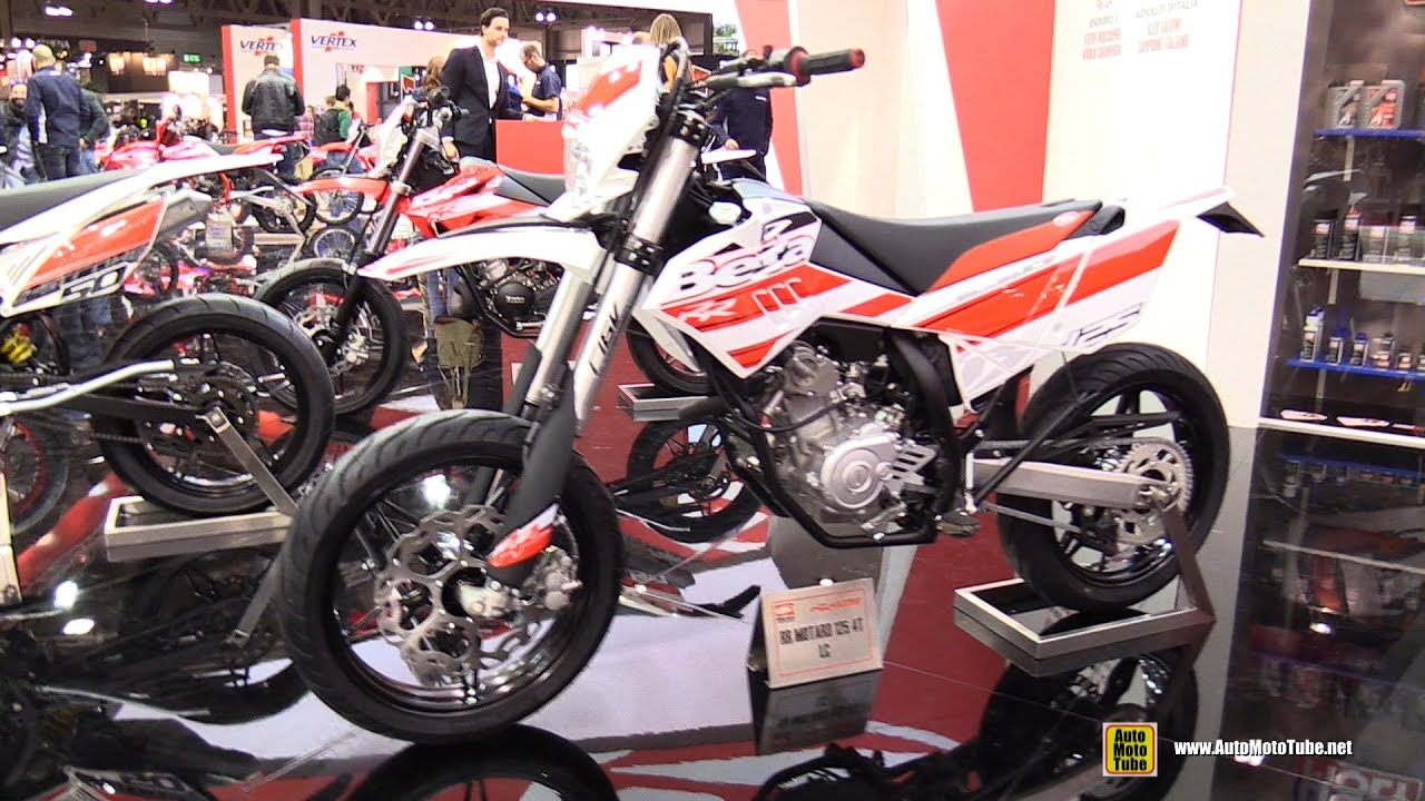 2017 beta rr motard 125 4t lc walkaround 2016 eicma. Black Bedroom Furniture Sets. Home Design Ideas
