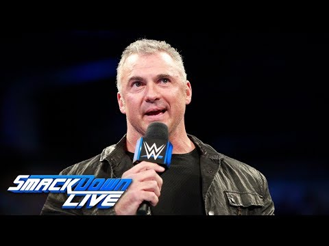 Shane McMahon addresses SmackDown's raid of Raw: SmackDown LIVE, Oct. 24, 2017