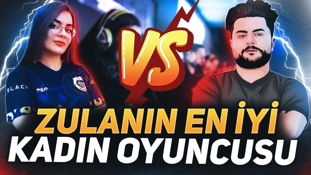 Download ZULA KADINLAR LİGİNİN EN İYİ OYUNCUSU İLE 1VS1 ATTIM !! ZULA
