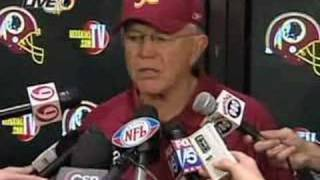 Joe Gibbs Tribute - Redskins 2007