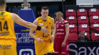EuroMillions Basketball League - Les highlights : Ostende - Spirou Charleroi (78-71) (03.05.2017)