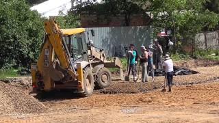 Подготовка площадки для асфальтирования.(, 2015-06-03T21:02:40.000Z)