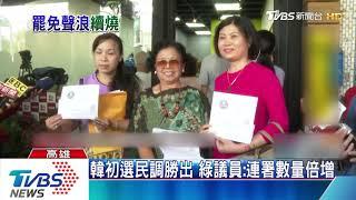 罷韓又遇嗆!綠議員:韓選總統有助罷免