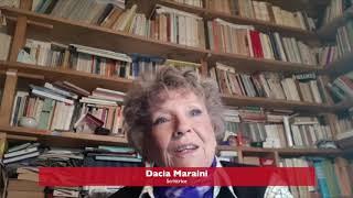 Anche Dacia Maraini è con SOS CORONAVIRUS SICILIA