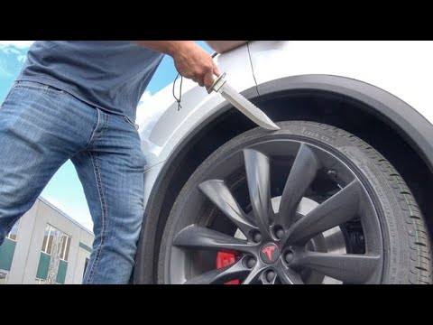 Drill in Tyre | life Hack | Puncture Sealing System | AIRFIX TYRE SEALANT