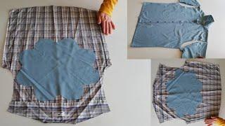 Kullanılmayan Gömlekler için 3 Tane  Kullanışlı Geri Dönüşüm