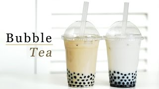 How to Make Bubble Tea - Milk Tea & Coconut 버블티 만들기 - 한글자막