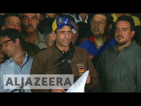 Venezuela: Opposition leader Henrique Capriles banned from office