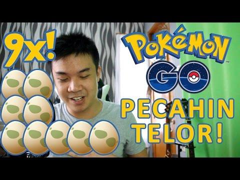 MENETASKAN 9 TELUR SEKALIGUS! - Pokemon GO VLOG (Indonesia)