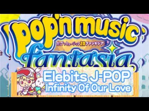 Pop'n Music 20 fantasia - Elebits J-POP Infinity of Our Love EX (33)