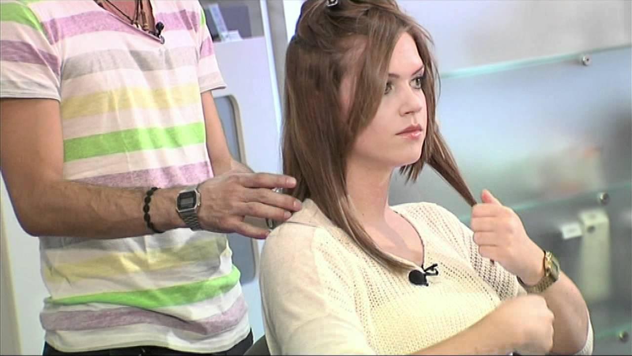 Frisuren anleitung glatteisen