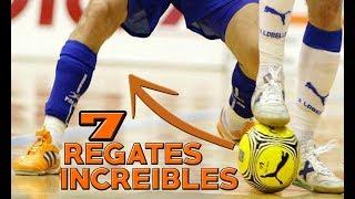 7 INCREIBLES REGATES DE FUTBOL SALA! |CONECTACONFUTBOL!