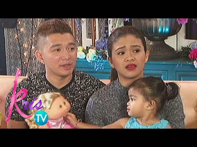 Kris TV: Baby Mela loves reading and writing
