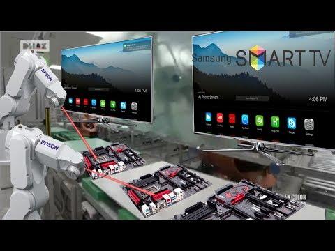 ASI SE FABRICA UN TELEVISOR LED SMART TV