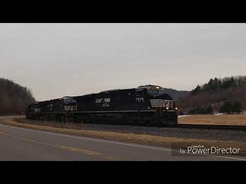 Coal train RJ Corman PA Lines