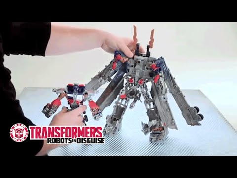 Transformers - Optimus Prime MechTech - Vehicle to Robot Instructional Video