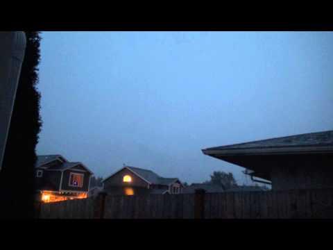 Intense Thunderstorm, Lake Stevens, WA