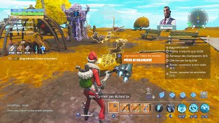 Find swing pieces to make a cure - FORTNITE SAUVER THE WORLD