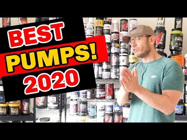 Best PUMP Pre-Workout 2020 [TOP 5 Stim Free Pre Workouts]