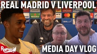 Real Madrid v Liverpool | Champions League Media Day Vlog ft. Klopp and Trent